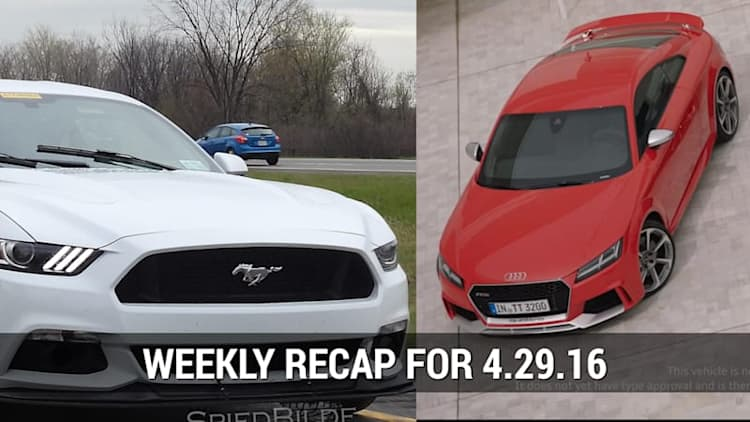 Ford Mustang Mach 1 Spied, Audi debuted the 2017 TT RS in Beijing | Autoblog Minute