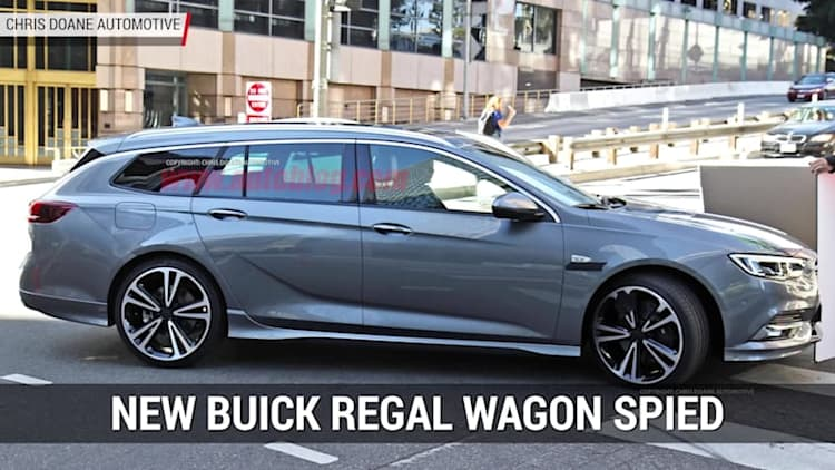 Potential Buick Regal Wagon Spied | Autoblog Minute