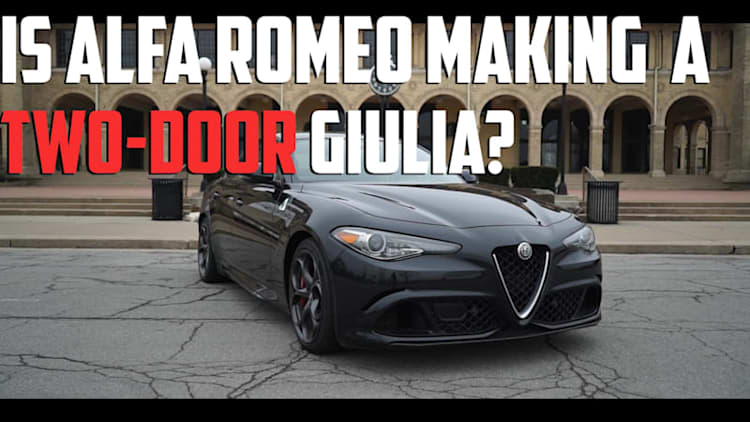Possible Two-Door Giulia Couple Reveal at Geneva | Autoblog Minute