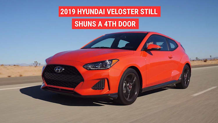 Hyundai Unveils the new 2019 Veloster