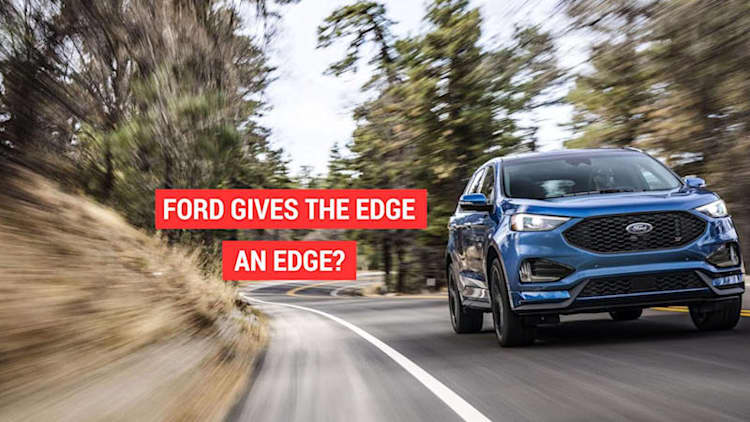 Ford announced that the Edge SUV is getting the ST treatment