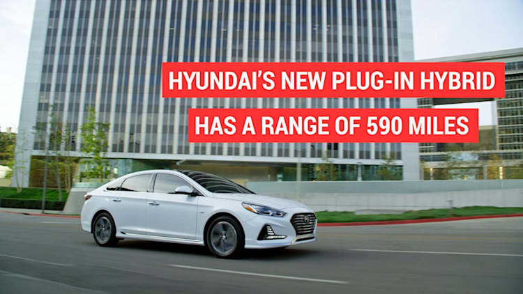 Hyundai's new Plug-in has a range of 590 miles