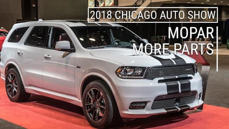 Make Your Dodge Durango Even Better   MoPar Options for R/T, SRT   2018  Chicago Auto Show