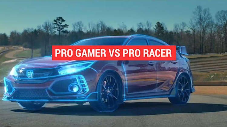 Honda turns a Civic Type R windshield into a video game