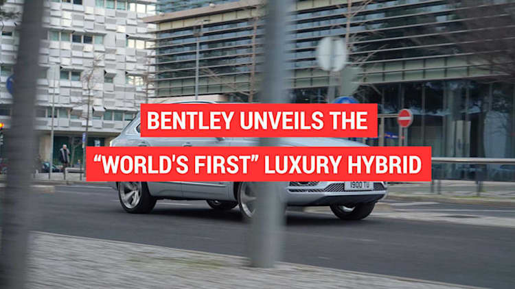 Bentley debuts the first Bentayga Hybrid in Geneva