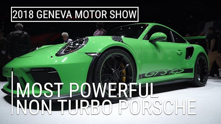 The GT3 RS is the most powerful non-turbo Porsche 911 | 2018 Geneva Motor Show