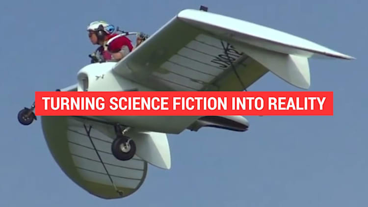 This personal jet glider turns science fiction into reality