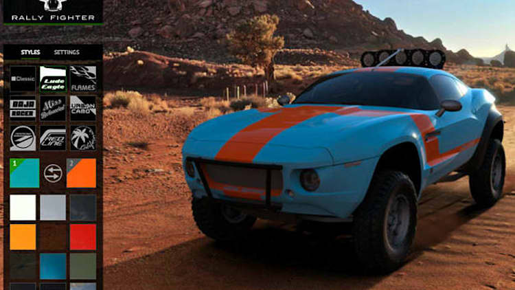 Local Motors finally gives its Rally Fighter a configurator [w/video]