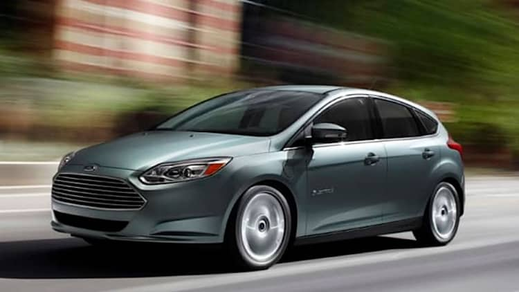 Ford recalling nearly 24,000 Focus EV and C-Max models over door chime