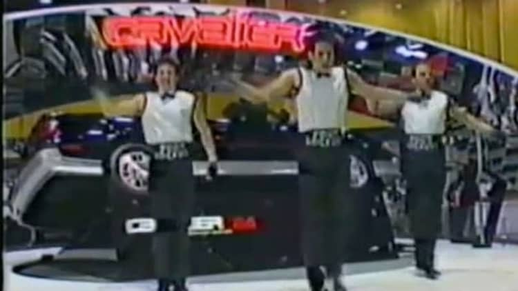 The Volt Dance had precedent; meet the Chevy Footlockers