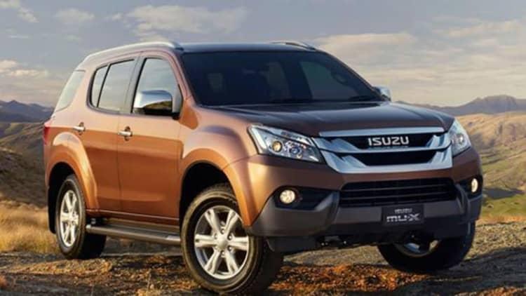 Isuzu MU-X SUV is a Chevy Trailblazer in drag [w/videos]