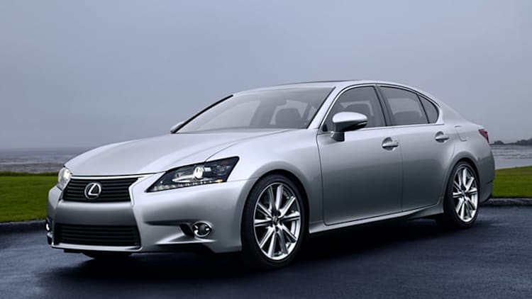 2014 Lexus GS gets eight-speed auto, other enhancements