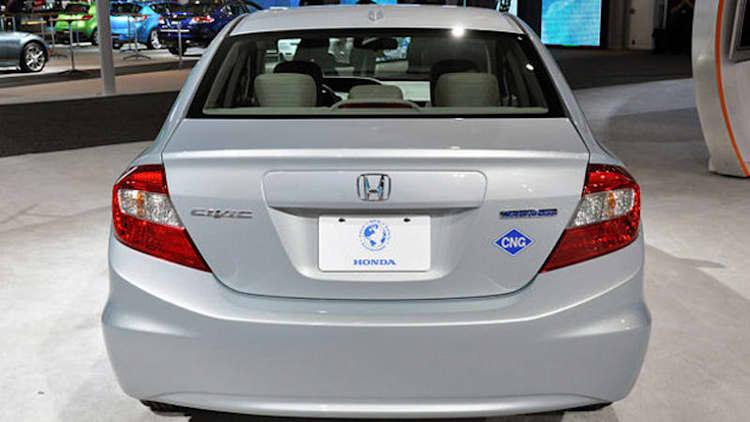 Used Natural Gas Civic For Sale