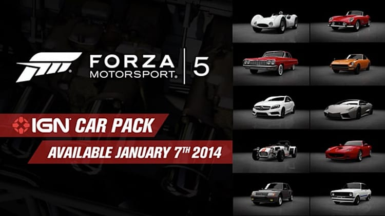 Forza 5's latest car pack includes Lamborghini Reventón, Caterham Superlight and more