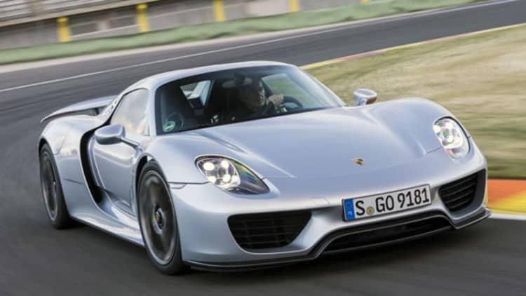 2015 Porsche 918 Spyder [w/video]