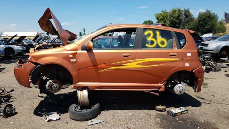 Junkyard Gem: 2005 Chevrolet Aveo SS