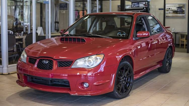 'Baby Driver' stunt Impreza WRX sells for nearly $70,000
