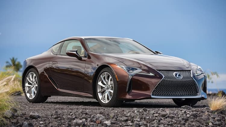 Lexus LC  500 stands apart from the go-fast sport luxury crowd