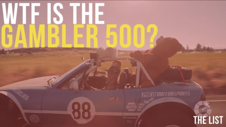 Driving a $500 junker in a 500-mile off-road rally race | 'The List' #0500