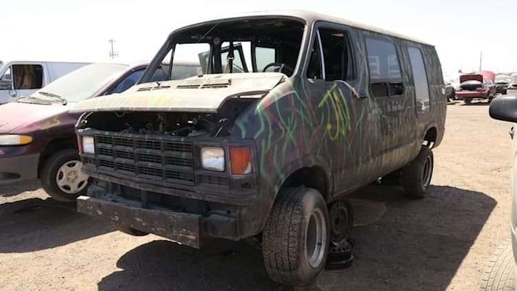 Junkyard Gem: 1987 Dodge Ram race support vehicle