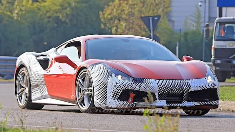 Ferrari 488 GTO possibly revealed in new spy shots