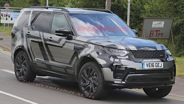 Land Rover Discovery caught unmasked