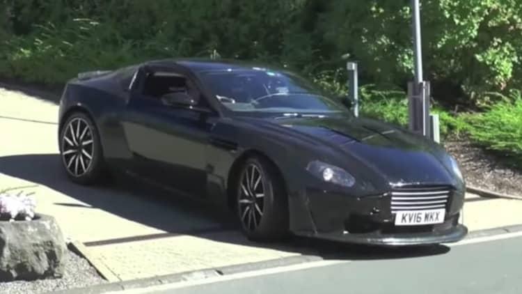 This Aston Martin V8 Vantage prototype sounds like it has AMG power
