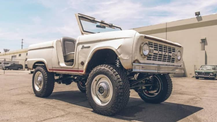1966 Ford Bronco gets the Icon Derelict treatment