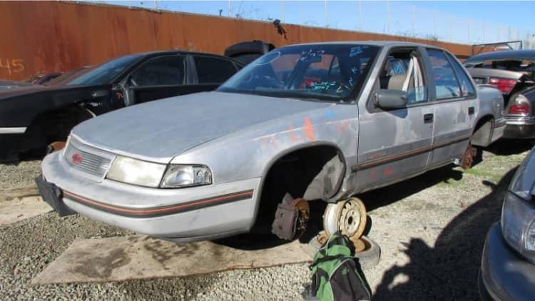 Junkyard Gem: 1990 Chevrolet Lumina Euro 3.1 Sedan