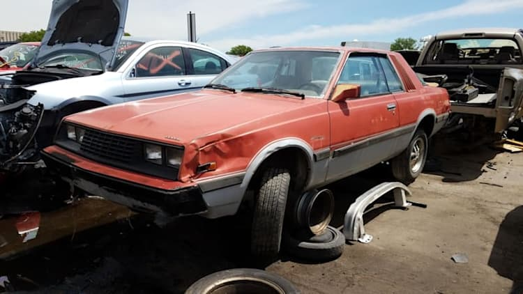Junkyard Gem: 1981 Dodge Challenger