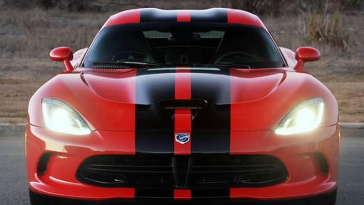 Chrysler calling in 1,912 Vipers over airbag sensors