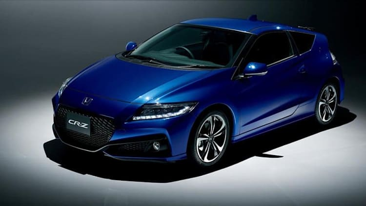 Honda has finally killed the unloved CR-Z hybrid hatch