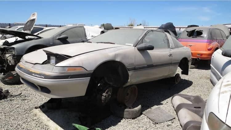 Junkyard Gem: 1990 Plymouth Laser RS Turbo