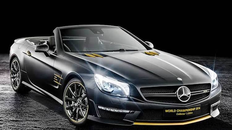 Mercedes celebrates with World Championship edition SL63