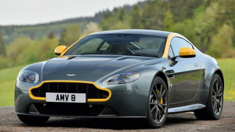 2015 Aston Martin V8 Vantage GT First Drive