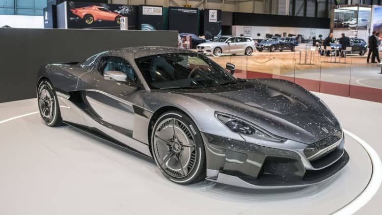 Porsche buys stake, plans to partner with EV supercar maker Rimac