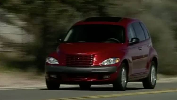 MotorWeek retro review revisits the Chrysler PT Cruiser