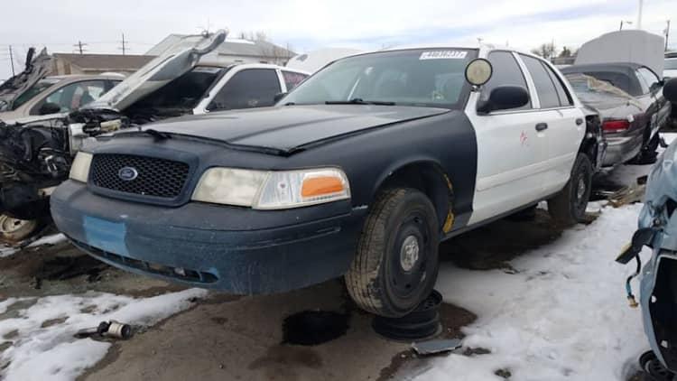 Junkyard Gem: 2003 Ford Crown Victoria Police Interceptor