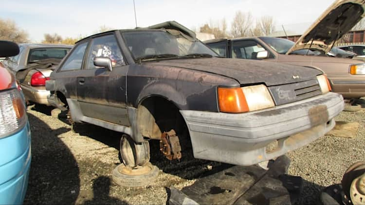 Junkyard Gem: 1987 Ford Escort GT