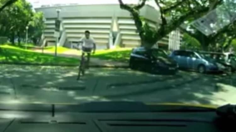 Lamborghini owner forgives teen for using car as a bike ramp