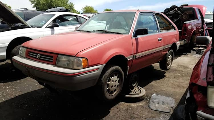 Junkyard Gem: 1989 Mercury Tracer 3-Door Hatchback