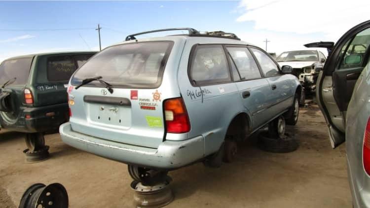 Junkyard Gem: 1994 Toyota Corolla DX Wagon