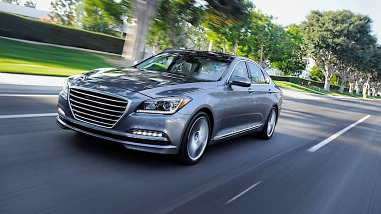 2015 Hyundai Genesis recalled to replace tires