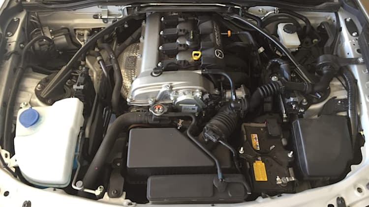 Our Mazda MX-5 Miata has the best engine bay in the business