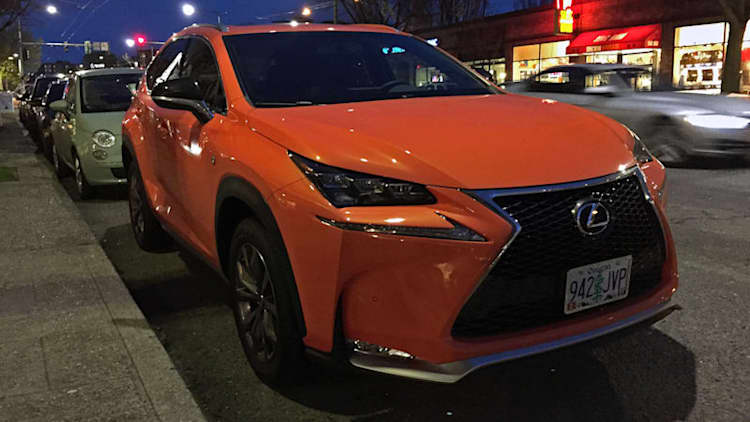 Stand out in the parking lot | 2017 Lexus NX 200t F-Sport Quick Spin