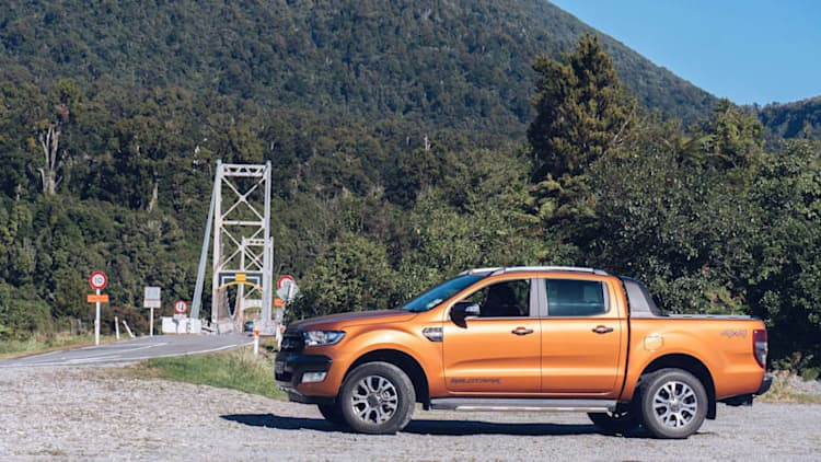 Driving a Ford Ranger through New Zealand was simply breathtaking
