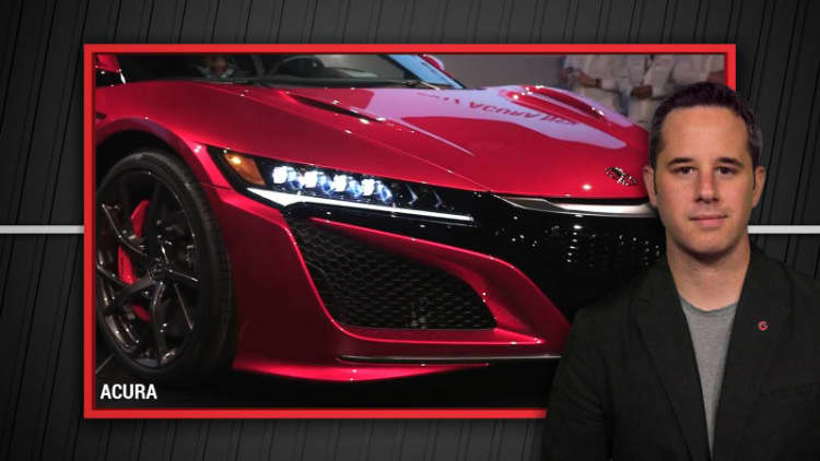 2017 Acura NSX #001 is finally here | Autoblog Minute