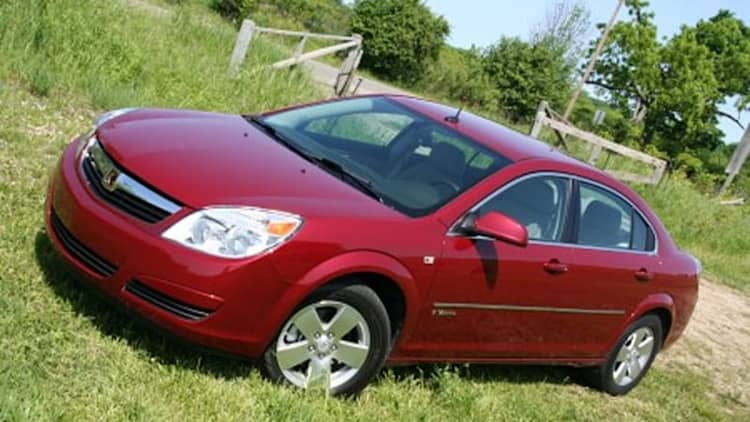 In the AutoblogGreen Garage: 2007 Saturn Aura Green Line hybrid
