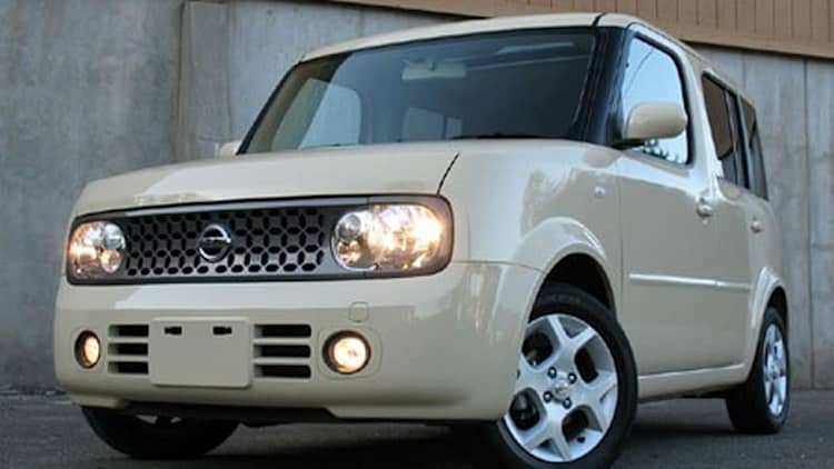 Man in the Box: Driving the 2008 Nissan Cube