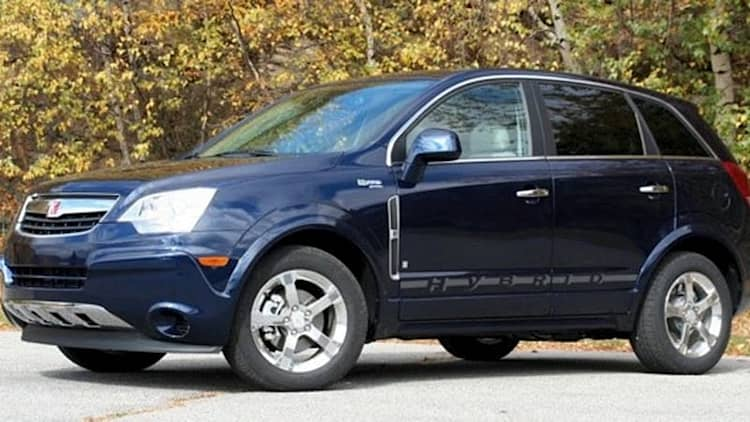 Saturn Vue 2-mode hybrid rated at 27/30 mpg by EPA, will never be built